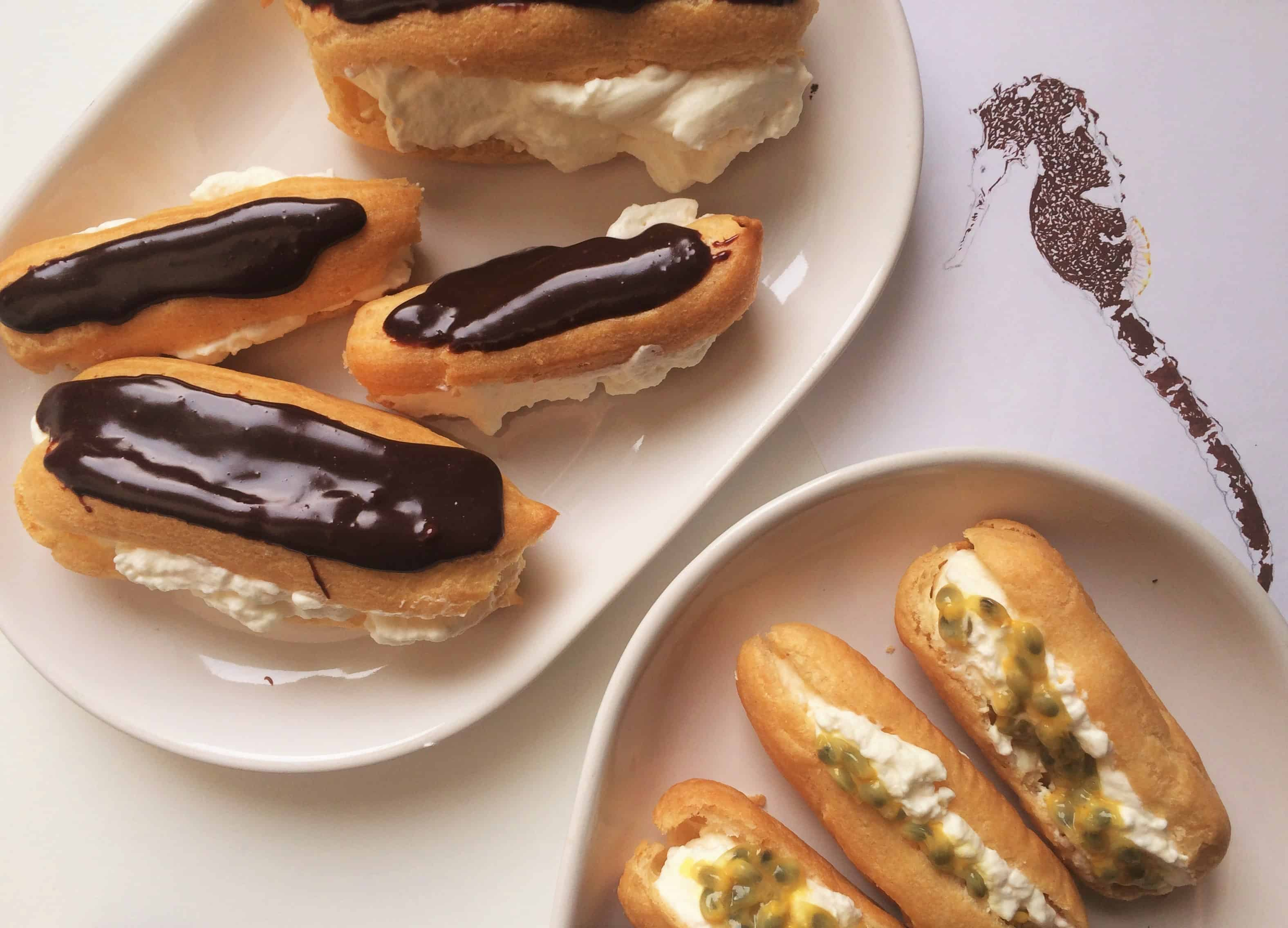 Eclairs, explosion of flavour!