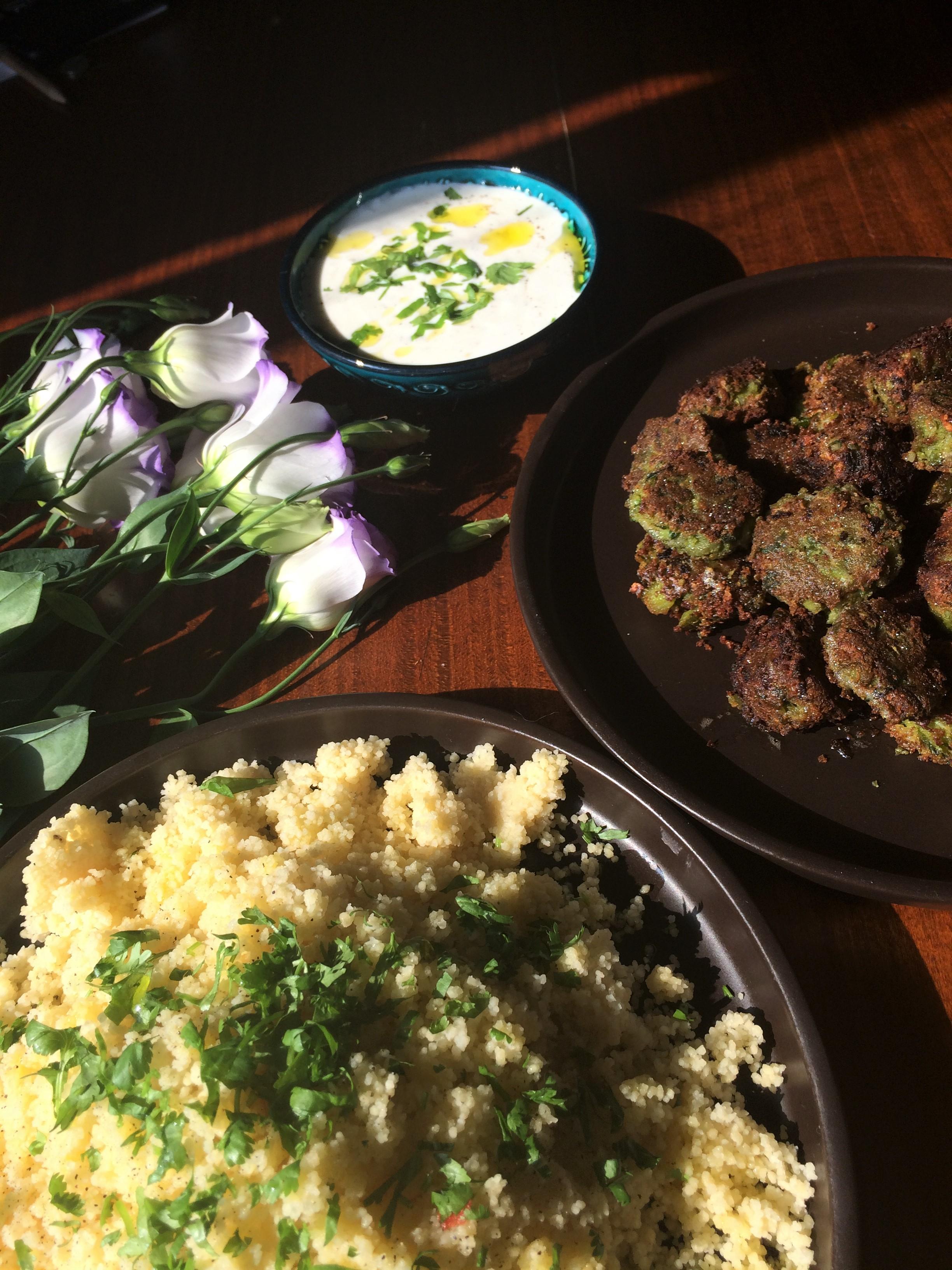Falafele z bobu Broad beans falafels