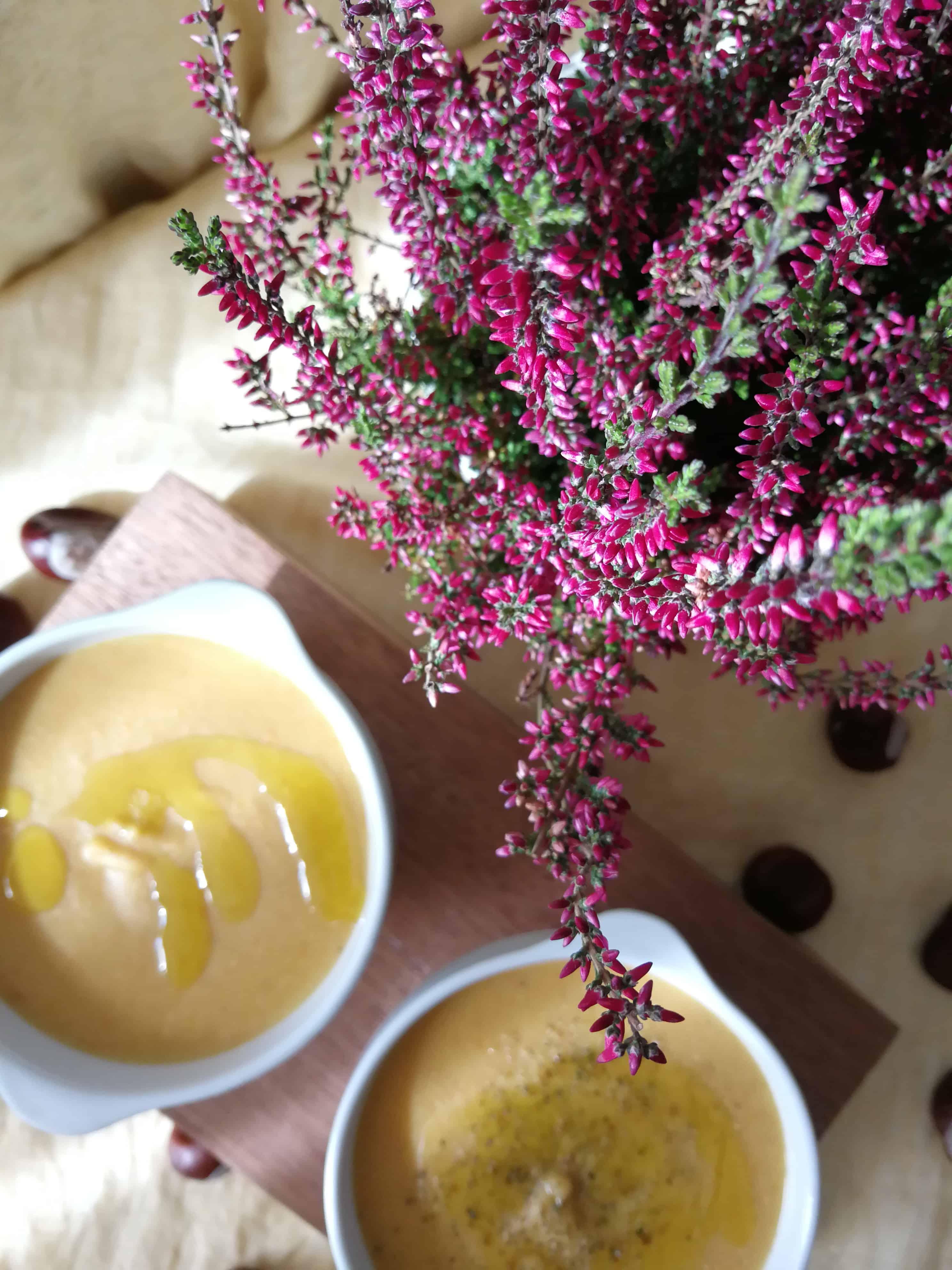 kremowa zupa z czerwonej soczewicy