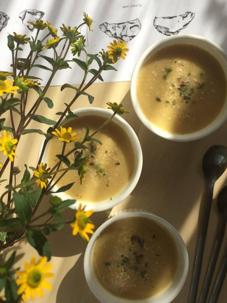 Zupa z ciecierzycy | Chickpeas creamy soup