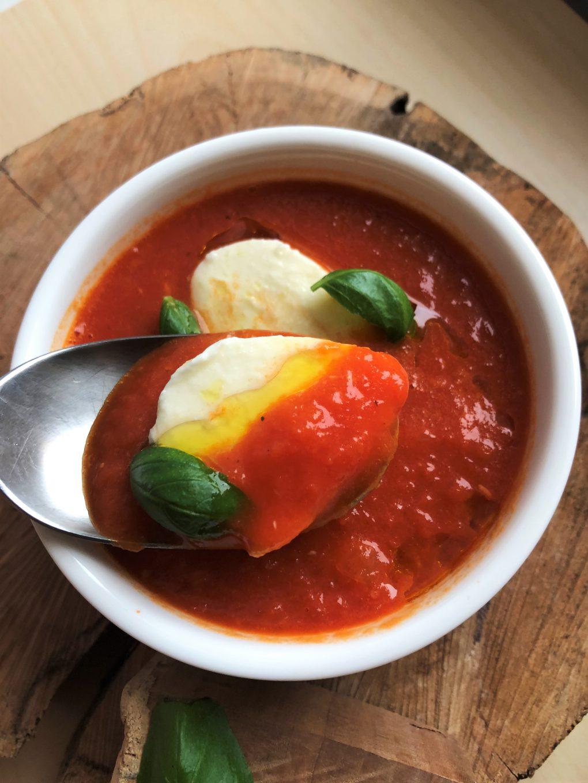 Odrobina słońca, czyli krem z pomidorów