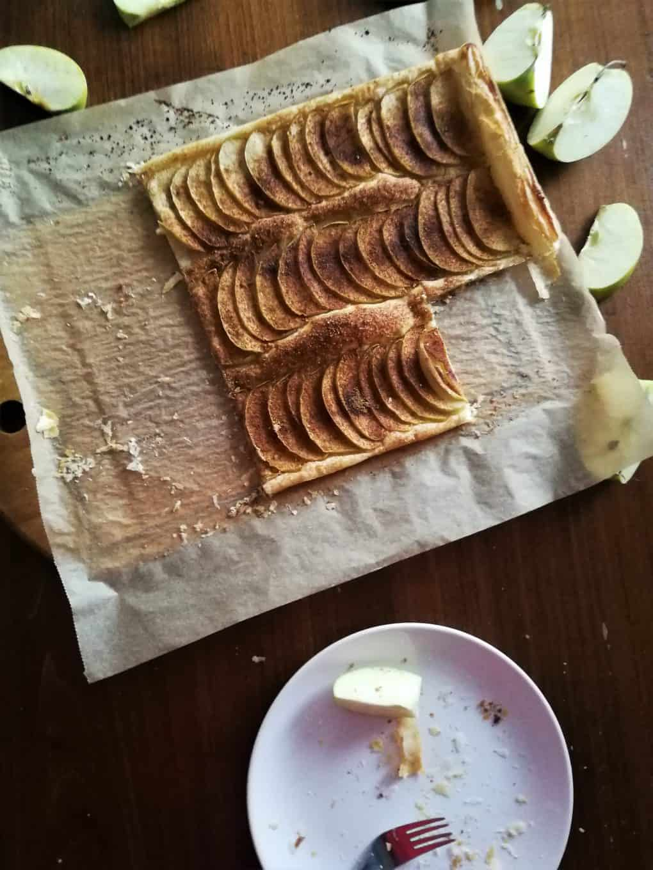 ciasto francuskie jabłka